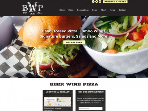 Beer Wine Pizza (BWP)