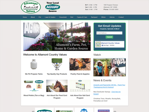 Altamont Country Values/Altamont Agway