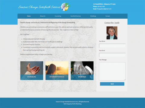 Seasons Change Interfaith Services
