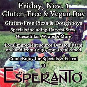 gluten free vegan day nov 1