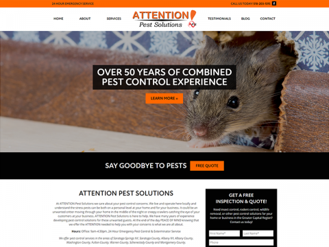 ATTENTION Pest Solutions