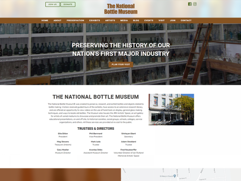 The National Bottle Museum