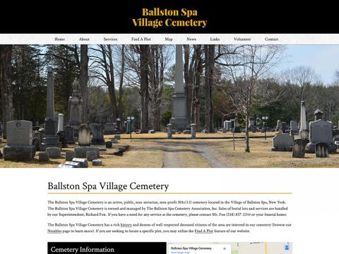 Ballston Spa Cemetery