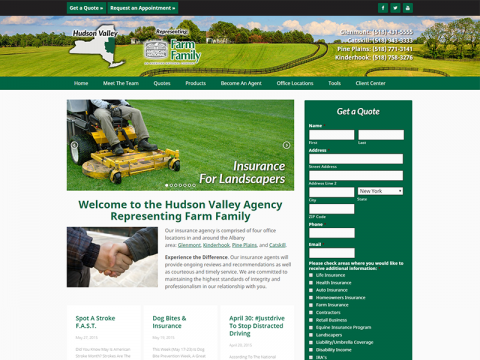 Farm Family Hudson Valley Agency