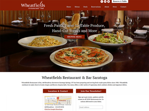 Wheatfields Saratoga