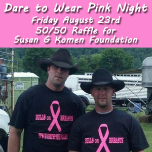dare to wear pink night